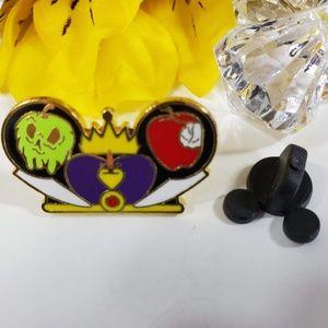 4/$25 Disney Evil Queen Mickey Ears Hat Pin
